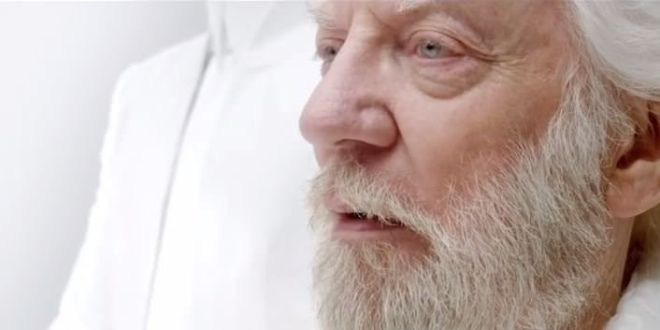 Teaser Trailer The Hunger Games Mockingjay (parte 1) - Presidente Snow