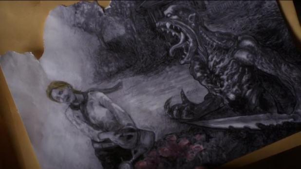 Pretty Little Liars 5x06: Un dibujo hecho por Bethany Young demuestra que ella y Mrs. DiLaurentis se conocían durante su ingreso en Radley.