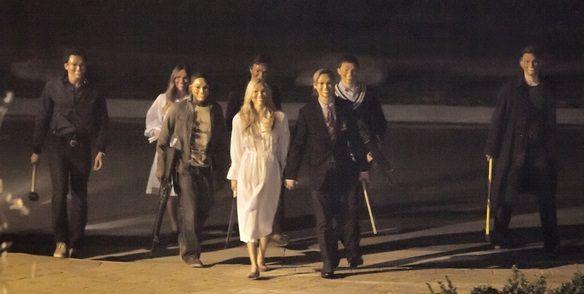Un encantador grupo de jóvenes en The Purge