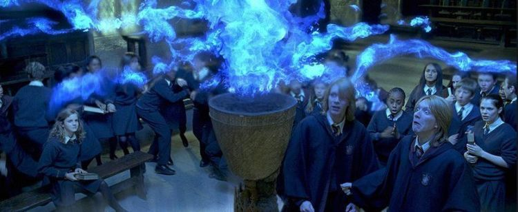 El cáliz de fuego de Harry Potter and the Goblet of Fire