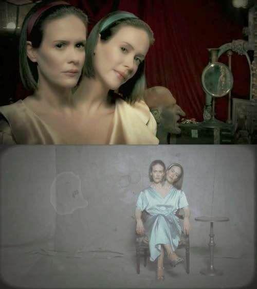 Novedades en American Horror Story: Freakshow - Sarah Paulson es las hermanas siamesas Bette y Dot