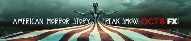 Novedades en American Horror Story: Freakshow - La cuarta temporada de la serie antológica American Horror Story, subtitulada Freakshow, comienza su emisión el ocho de octubre