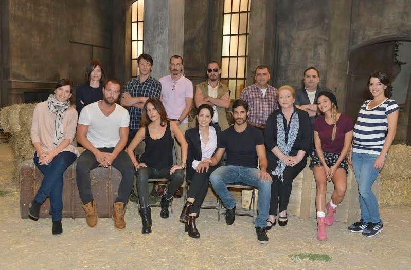 Actores de la serie Rabia