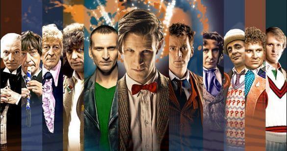 Todas las caras de Doctor Who