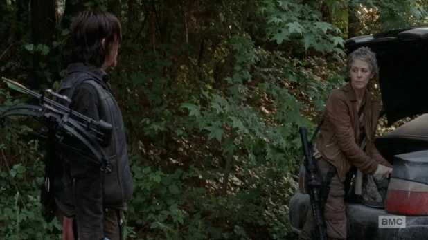 The Walking Dead 5x02 - Carol quiere seguir sobreviviendo por su cuenta