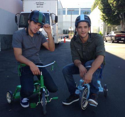 Quinta temporada de Teen Wolf - Tyler Posey y Dylan Sprayberry