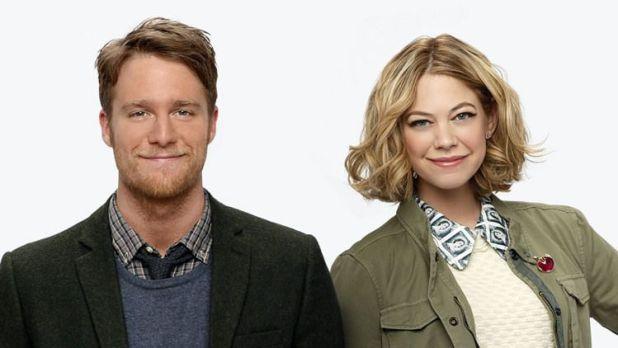 Protagonistas de la serie Manhattan Love Story (ABC)
