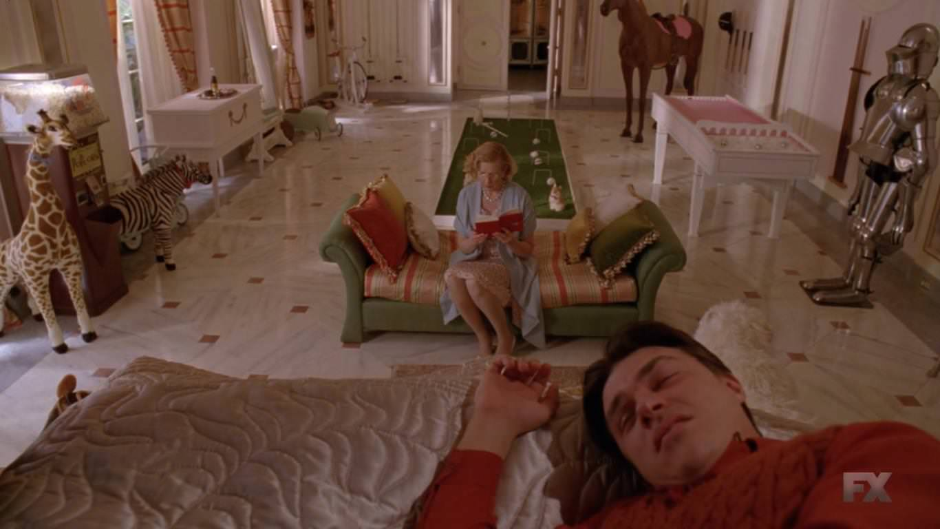 American Horror Story Freak Show 4x06 - Gloria lee el diario de Dot.