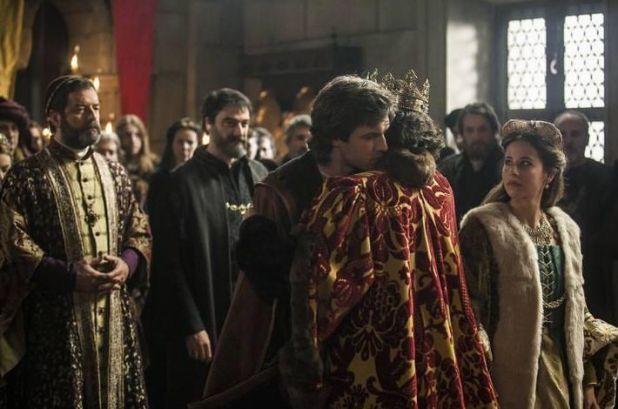 Isabel 3x09 - Felipe y Juana son recibidos por los Reyes Católicos