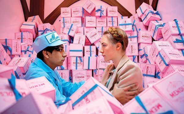 Amor juvenil en The Grand Budapest Hotel