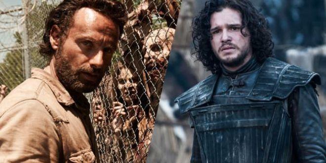 Guerra social entre Game of Thrones y The Walking Dead