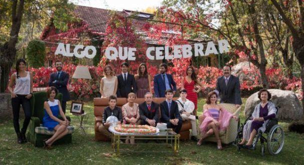 Estreno de Algo que Celebrar (Antena 3)