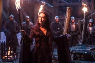 Melissandre en la quinta temporada de Game of Thrones