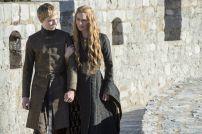 Tommen Baratheon y Cersei Lannister en Game of Thrones