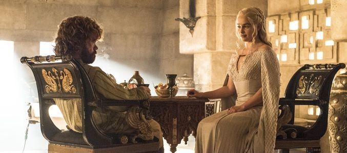 Game of Throne 5x08 Tyrion y Daenerys