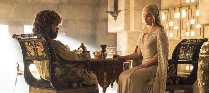 Game of Throne 5x08 Tyrion y Daenerys