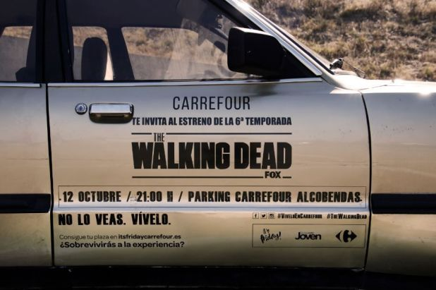Carrefour te invita al estreno de The Walking Dead (T6)