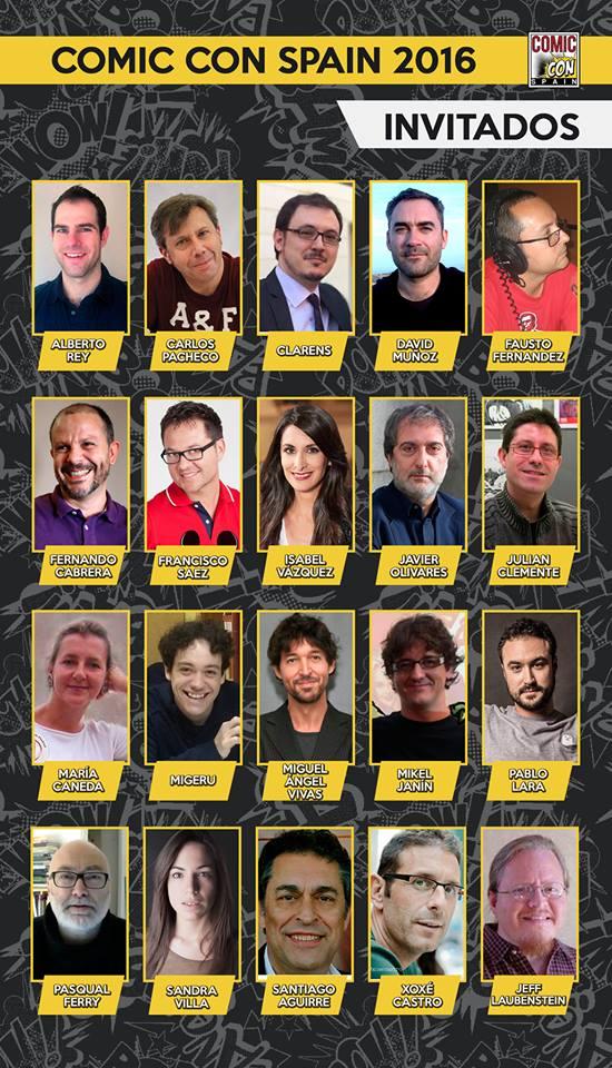 Comic Con Spain 2016
