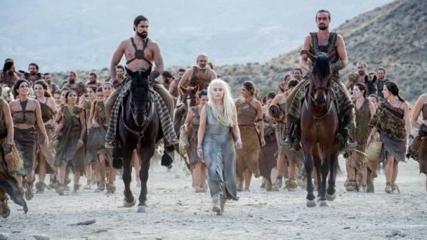 Game of Thrones 6x03 Oathbreaker - Daenerys