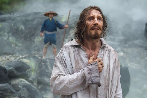 Liam Neeson en 'Silencio'