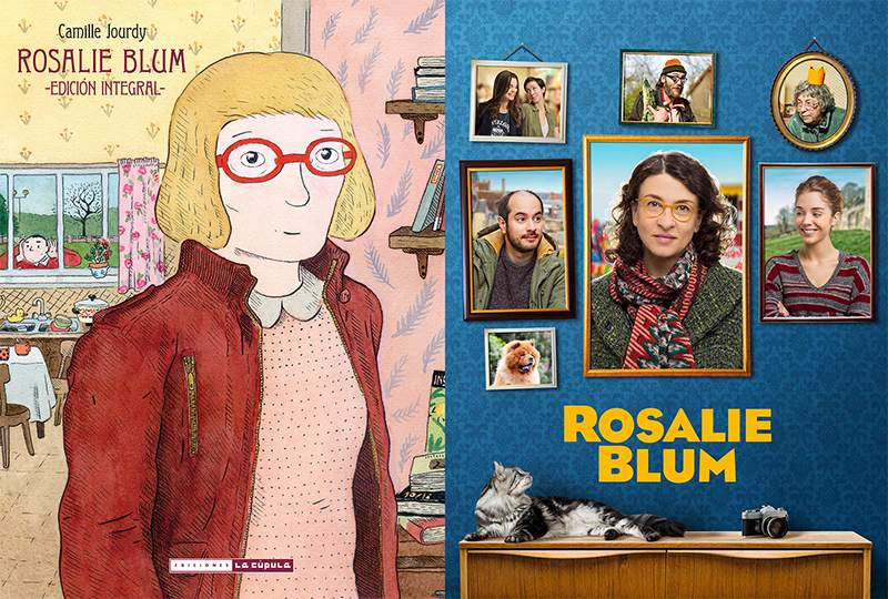 'Rosalie Blum' cartel comic Camille Jourdy