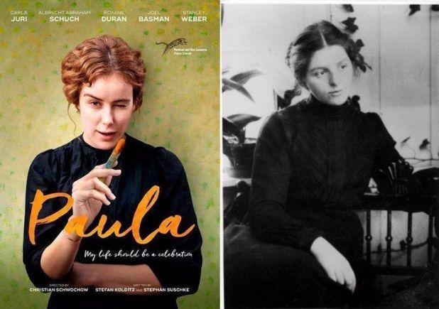 Critica Carla Juri como Paula Becker pintora expresionista