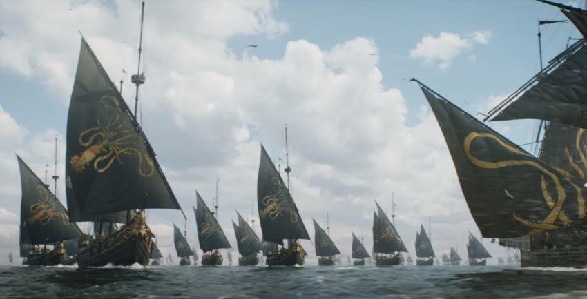 Euron Greyjoy tiene su flota marítima