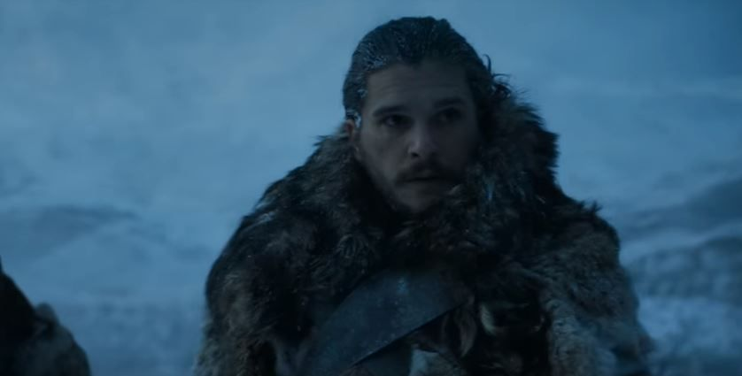 Jon Snow en la séptima temporada de 'Game of Thrones'