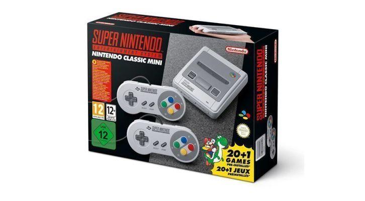 Nintendo anuncia la SNES Mini
