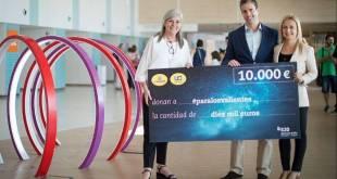 Cinesa dona 10.000 euros al Hospital Sant Joan de Déu Barcelona