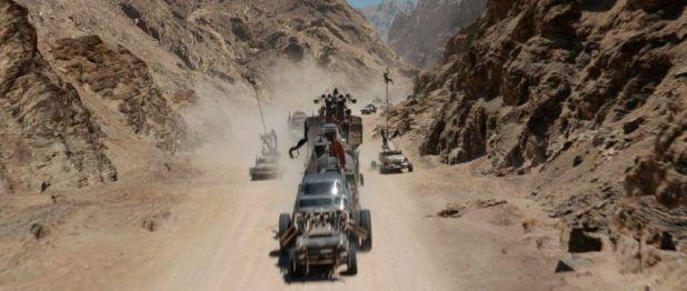 Mad Max después de los efectos especiales