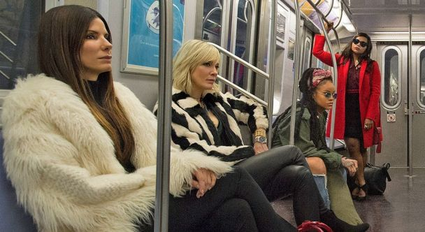 Sandra Bullock y Cate Blanchett, protagonizan Ocean's 8