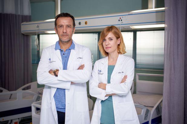 Paula Díaz (Alexandra Jiménez) en la serie 'Hospital Valle Norte'