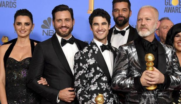 ACS VERSACE ganó el Globo de Oro a la mejor miniserie.