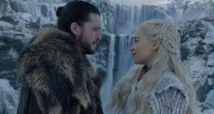 Juego de Tronos 8x01, Jon y Daenerys