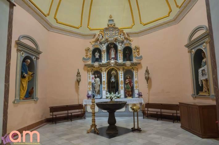 Chinchilla-Iglesia-Capilla Bautismal -1