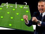 Táctica 3-4-1-2