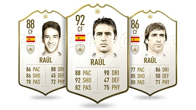 Raul - Icono Fifa 20