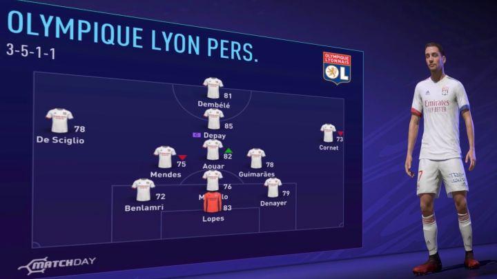 Olympique de Lyon Fifa 21