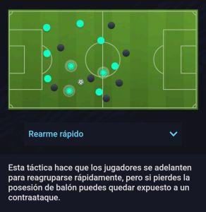 Estilo Ofensivo Rearme Rápido Fifa 21