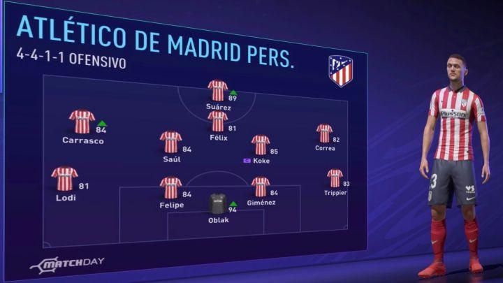 Atlético de Madrid Fifa 21