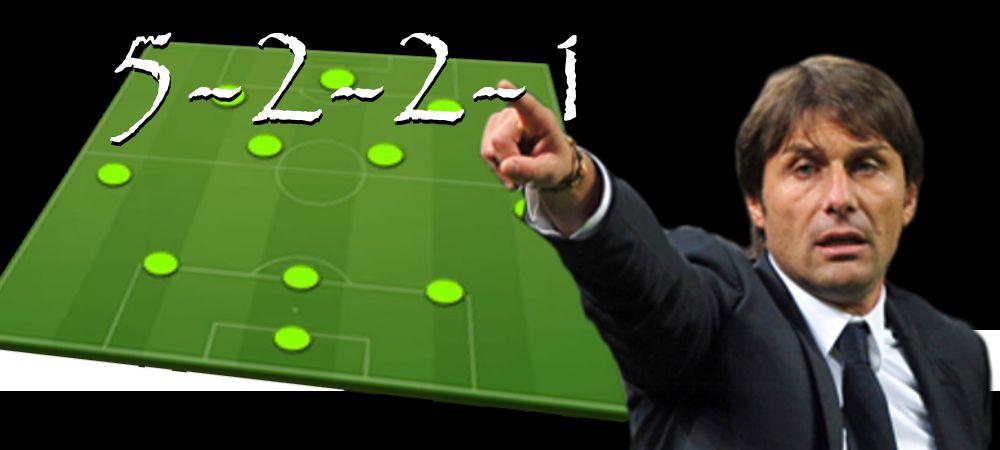 Táctica 5-2-2-1