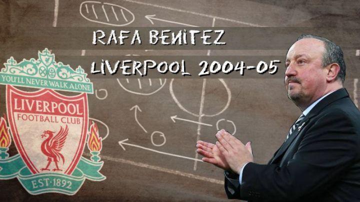 Rafa Benitez y el Liverpool 2004-05… Personaliza tu Fifa 21