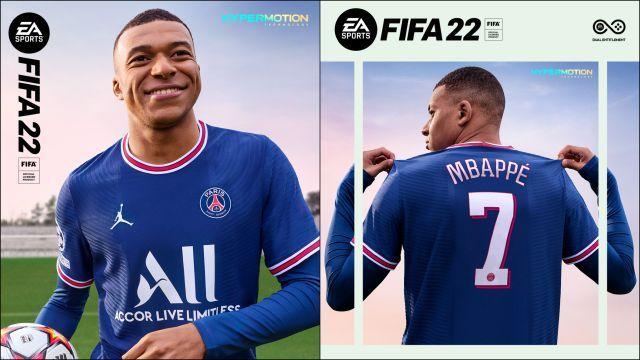 Mbappé… Tenemos portada Fifa 22