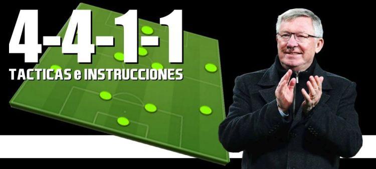 Táctica 4-4-1-1