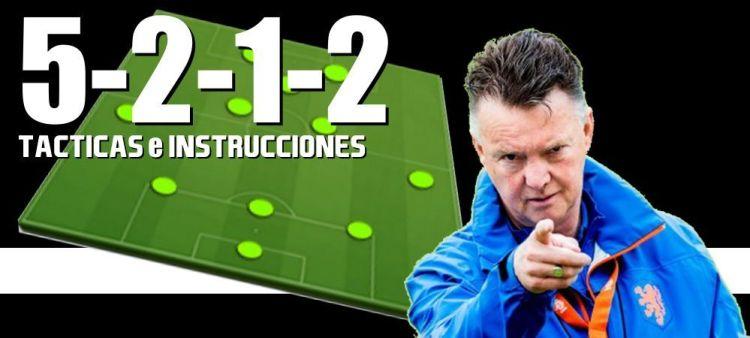 Táctica 5-2-1-2