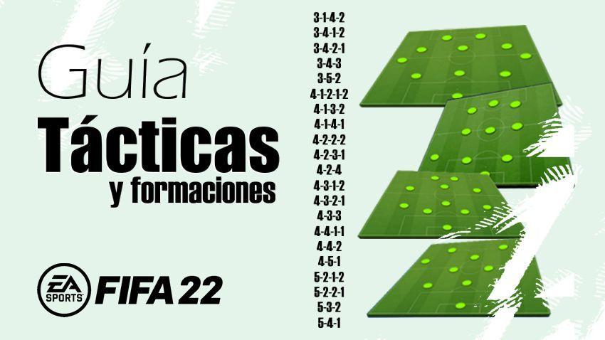 Guía de Tácticas y Formaciones Personalizadas Fifa 22