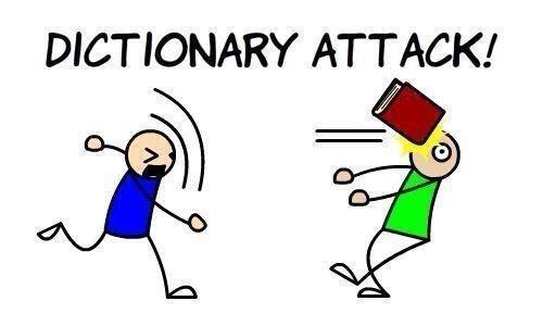 ataque diccionario