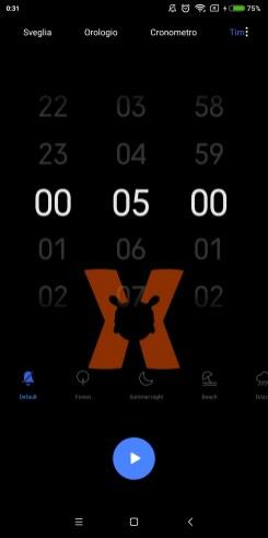Nueva app de reloj y temporizador