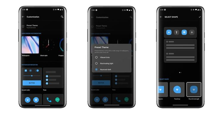 OxygenOS basado en Android 10